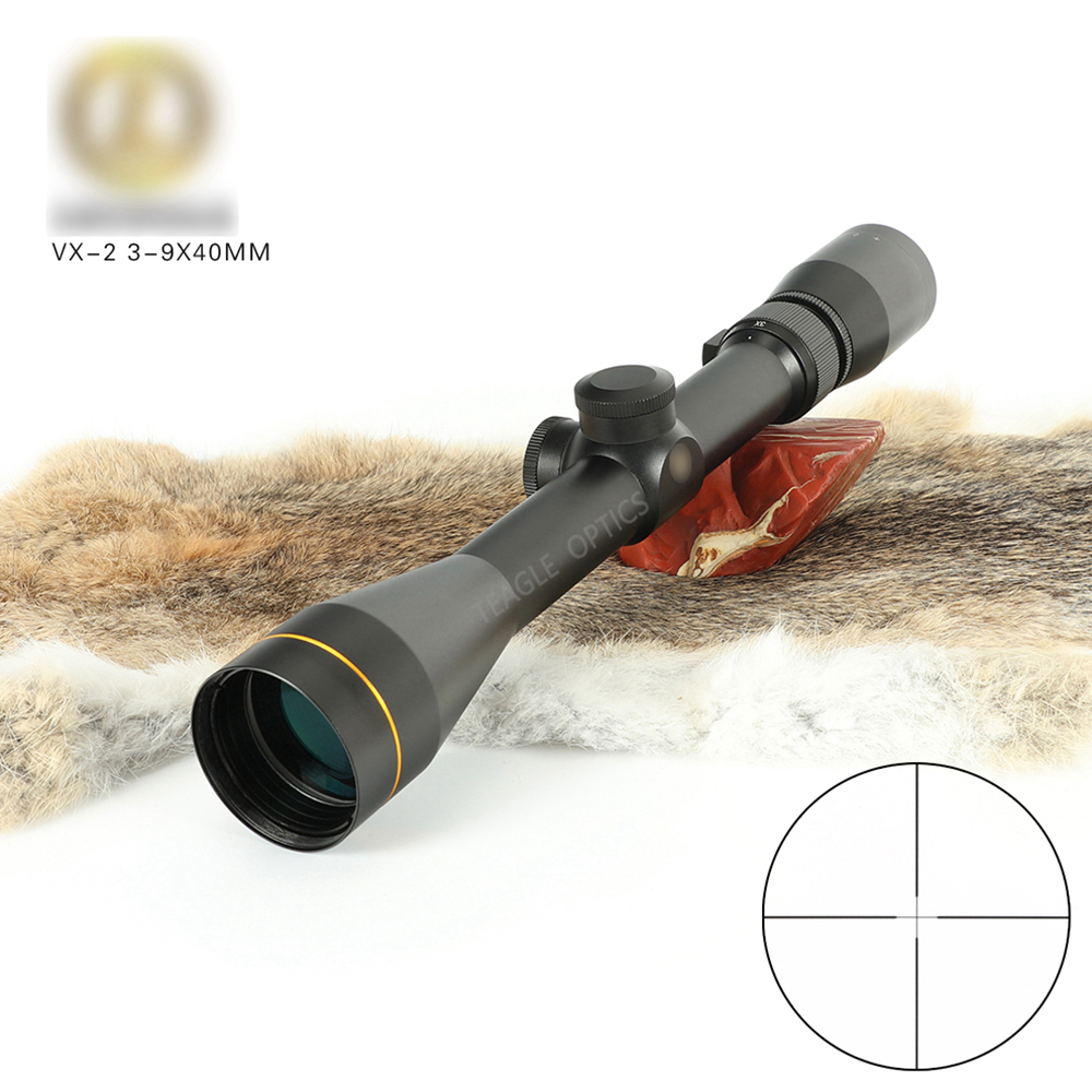 Leupold 3-9X40 Riflescope Tactical Optical Rifle Scope Sniper Hunting Rifle Scopes Long Range Airsoft Rifle Scope