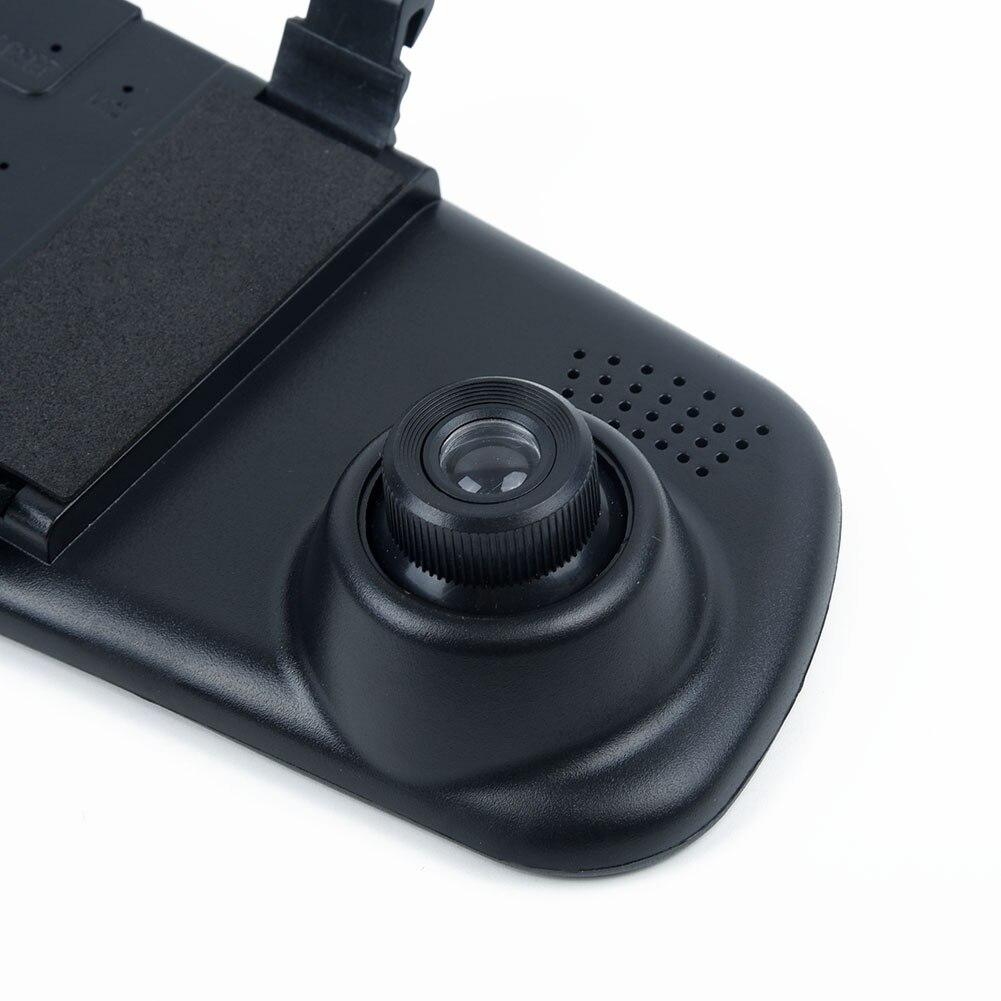 12-24V Auto DVR USB 2,0 2,4 Zoll Dash Cam Nachtsicht Set Rückspiegel