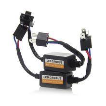 1 шт. h1 h3 h4 h7 h8 h9 h11 9005 9006 9012 фар Светодиодный преобразователь can-шины компенсатор ошибок резистор анти-мерцание