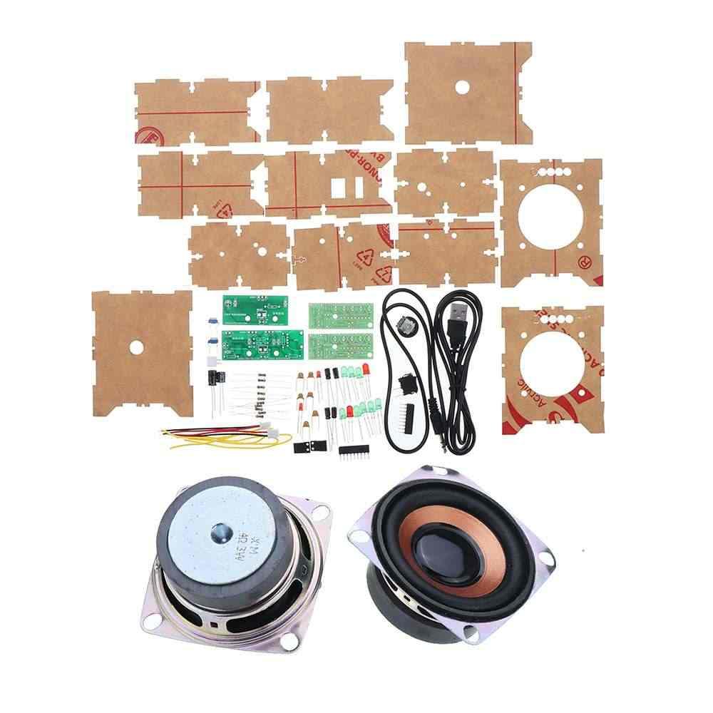 Diy Mini Kecil Amplifier Speaker Kit 3W Speaker Audio Mahasiswa Solder Percobaan Pelatihan Diy Papan Sirkuit Kit