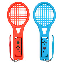 2 Pcs for Nintend Switch Accessories ABS Tennis Racket Handle Holder Gamepad NintendoSwitch Joy-Con Tennis Game Player(China)