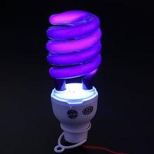 Свет 40 Вт Флуоресцентные УФ-лампы ультрафиолетовая лампочка лампа с зажимом