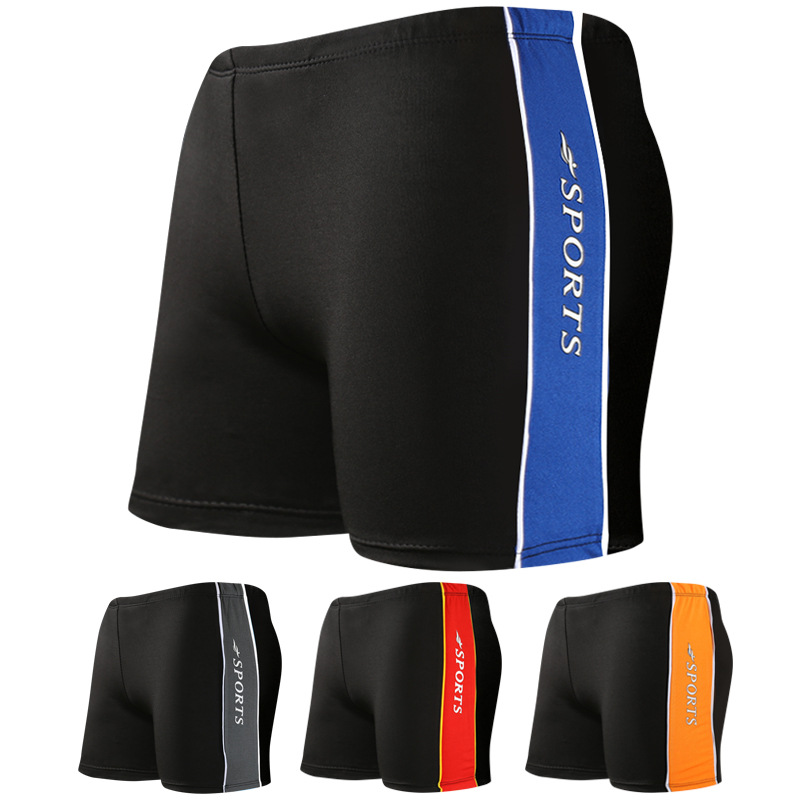 2018 New Products Swimsuit Extra Large Men Boxer Fat Swimming Trunks Plus-sized Winter Swimwear Wholesale