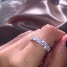 14K White Gold Jewelry Natural Diamond Jewelry Bizuteria Gemstone Ring for Women Anillos De Wedding 14 K Gold Anillos Mujer Ring
