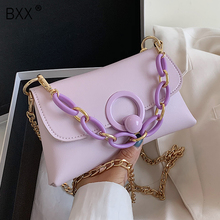 [BXX] Small PU Leather Crossbody Bags For Women 2020 Spring Elegant Shoulder Han