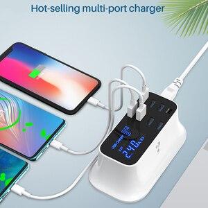 Image 2 - 急速充電タイプc usb充電器18ワットpd充電器12高速充電ハブiphone android用アダプタusb c電話充電器