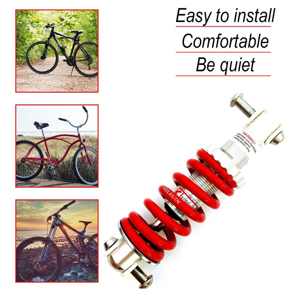 Mountain Bike Bicycles Rear Suspension Bumper Spring Shock Absorber Part Replace
