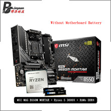 3600x-Cpu MSI MORTAR Pumeitou Ddr4 B550M 2666mhz Amd Ryzen R5 16G 8G MAG Suit Socket-Am4