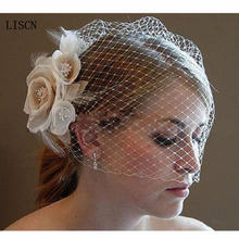 Свадебная вуаль для птиц цвета шампанского слоновой кости белые