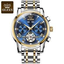 Часы наручные мужские механические с турбийоном роскошные брендовые