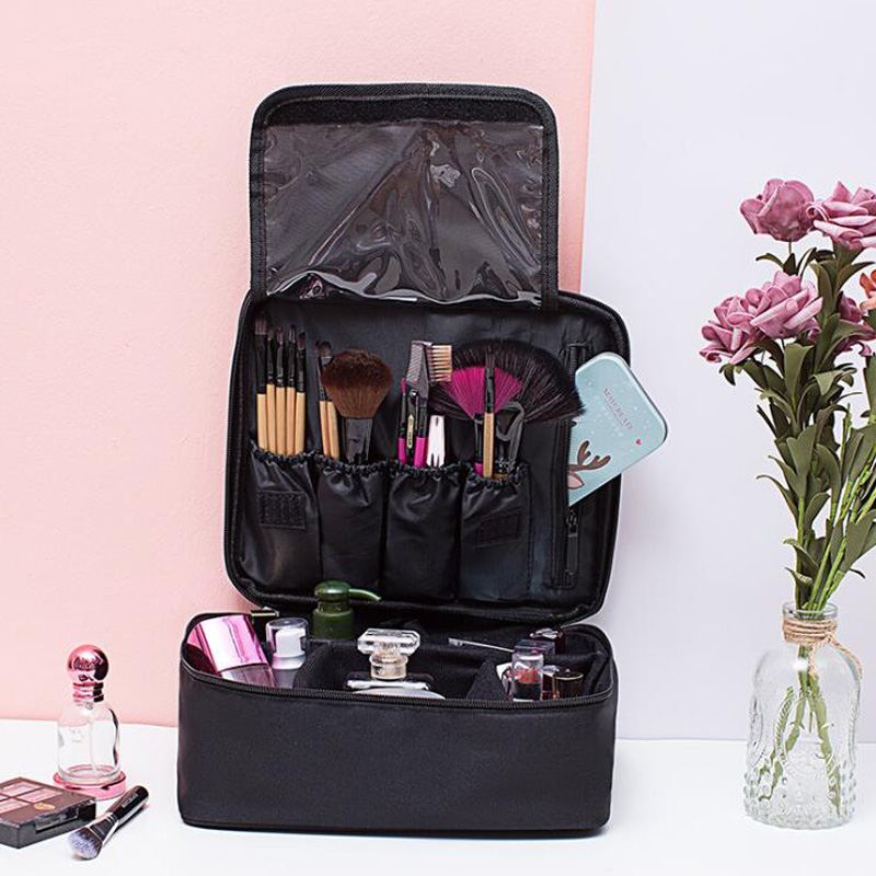 Multifunctional Makeup Kit Lady Cosmetic Bag Beauty Tools Storage Bag Waterproof Portable Cosmetic Bag Travel Wash Bag