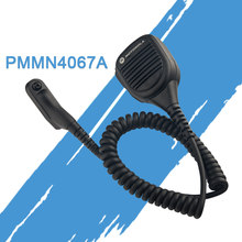 O orador handheld do microfone de motorola pmmn4067a para dgp8550 xpr 7550is p8668 walkie talkie(China)