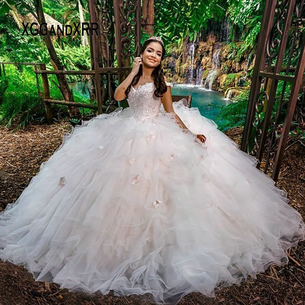 Luxury Ball Gown Quinceanera Dresses 2020 Prom Dress For Sweet 15 16 Birthday Party Gala vestidos 15 anos Princess Formal Gown