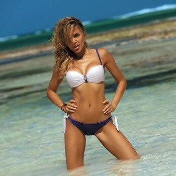 Push Up Sexy Bikini Plus Size Swimwear Women 2020 New High Waist Swimsuit Set Beachwear Bathing Biquini Two Piece Suit XL