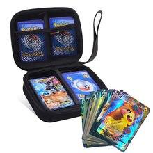 400 sztuk duża pojemność Pokemon karty worek do przechowywania dzieci gry karty kolekcjonerskie V Vmax kolekcja Carry etui na słuchawki torba dzieci prezent