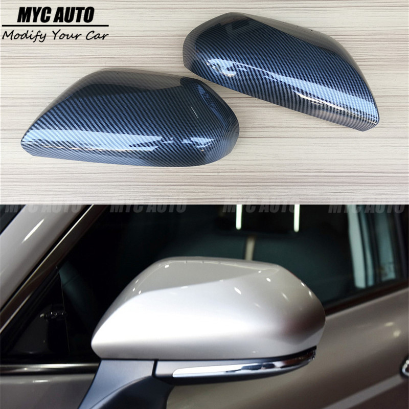 Carbon Fiber Look Mirror Cover For Toyota Camry 2007 2008 2009-2012 2013 2014-2017 2018+ Replacement Rear Side View Mirror Cover