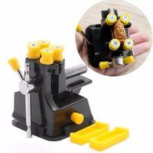 DIY Мини ювелирные изделия Ремесло прессформы фиксированный ремонт ручной инструмент для работы по дереву тиски ручка на присосках тиски