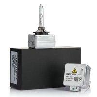 100% Original 2 PCS 12 V D1S D1C D2S D3S D4S 35 W ESCONDEU lâmpada xenon lâmpada de farol de carro 4300 K  6000 K  8000 K ESCONDEU lâmpada de substituição