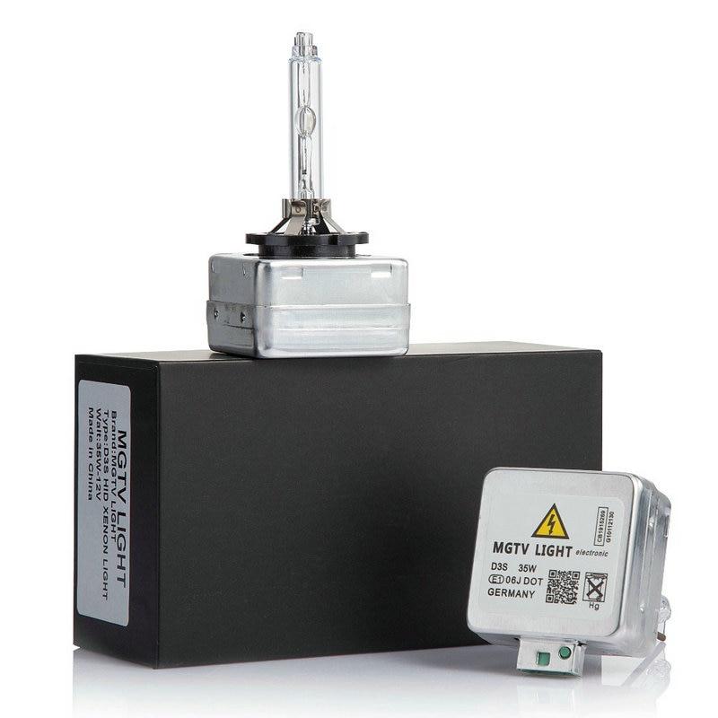 100% Originale 2 PCS 12 V D1S D1C D2S D3S D4S allo xeno 35 W HA NASCOSTO la lampada della lampadina per auto faro 4300 K, 6000 K, 8000 K di ricambio HID