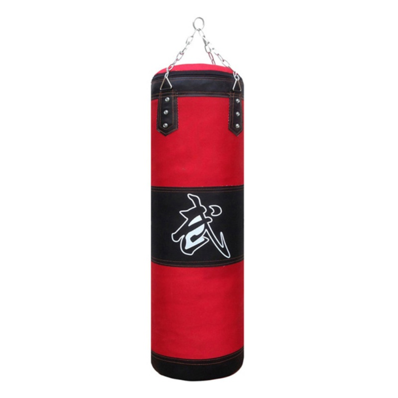 New Boxing Training Sandbag 60cm 80cm 100cm 120cm Wear-resistant Durable Kick Sandbag Boxing Training Fight Karate Sandbag
