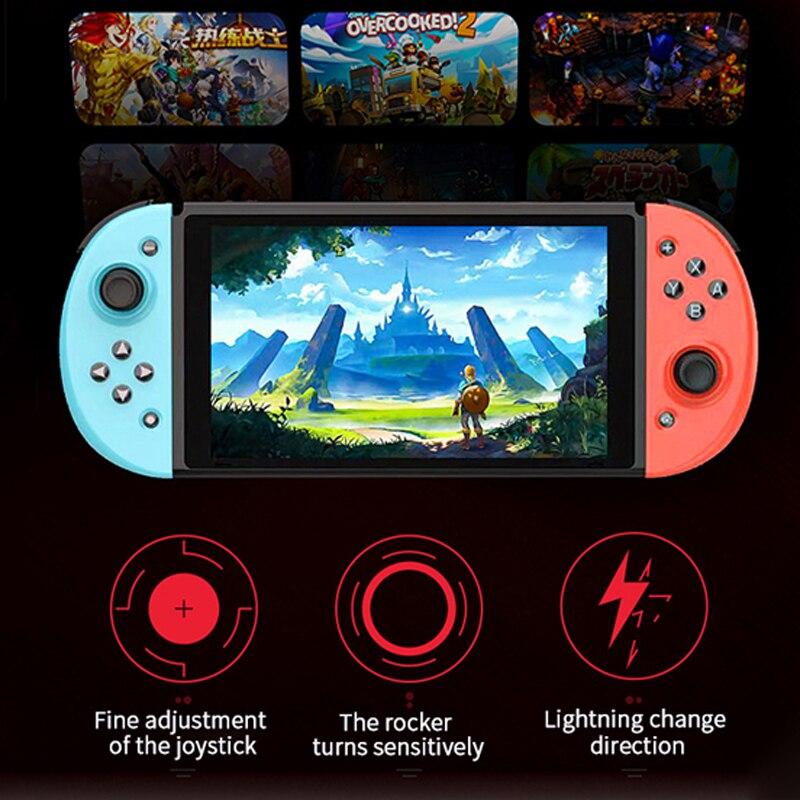 Беспроводной контроллер левый и правый геймпад для рукоятки переключателя Nintendo