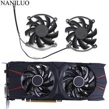 2PCS/lot iGame GTX 1060 1070 Cooler fan 4pin Replace for Colorful iGame S GeForce GTX1060 GTX1070 iGame U Video card Fan lacywear u 1 fan