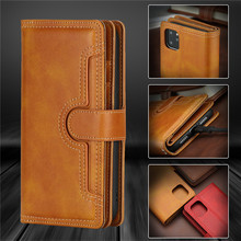 Luxury Wallet Case For iPhone 12 Case Leather Flip Cover Apple iPhone 12 Pro Max 12 Mini Phone Cases Stand Card Bags