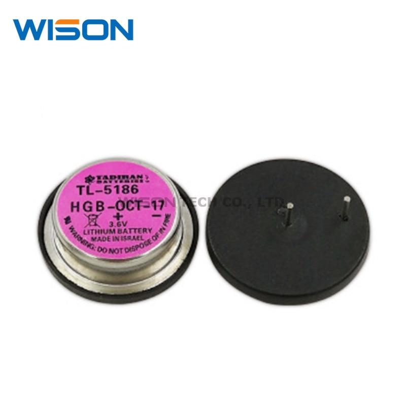TL-5186    NEW AND ORIGINAL DIP2 BATTERY LITH 3.6V WAFER 22.8MM TL5186 HGB-APR-18