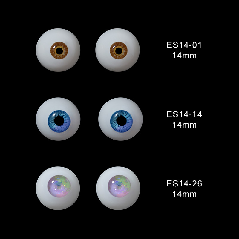 полимерный глазной шар BJD, размер 1/3, 1/4, 1/6, 1/8, высокое качество, SD, MSD, Цветные глаза из смолы, 12 мм, 14 мм, Новое поступление. шарнирная кукла, Цве...