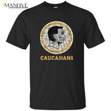цены 2019 New Fashion Brand Clothing Tee Caucasiaus Washington Caucasians Redskins Funny T-Shirt