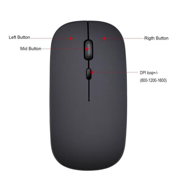 Business Accessories & Gadgets Laptop Accessories Rechargeable Mouse