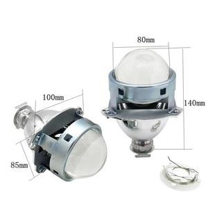 Image 4 - 2.5 3.0 Inch Projector Lens Gemakkelijk Installeren Koito Q5 Bi Xenon Lijkwade Masker Lhd Met Demon Ogen Wit Rood blauwe Ogen In Voorraad