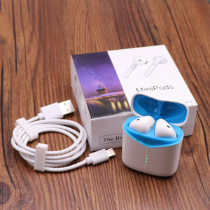 Image 5 - Wireless bluetooth earbuds, Listenvo miniPods 8D super Sound Flypods bluetooth 5.0 headsets headphone  pk i10000 TWS i9000 tws