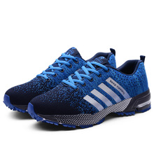الرجال أحذية مفلكنة الرجال الصيف عادية للجنسين خفيفة الوزن تنفس شبكة موضة الذكور المشي حذاء رياضة Size35 47 كبير