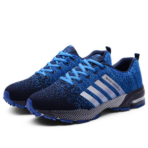 Image 1 - الرجال أحذية مفلكنة الرجال الصيف عادية للجنسين خفيفة الوزن تنفس شبكة موضة الذكور المشي حذاء رياضة Size35 47 كبير
