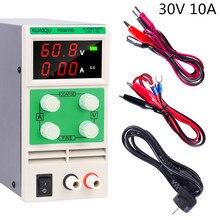 цена на Adjustable Laboratory power supply 30v 10a voltage regulator 220 v 110 v switching dc power supply current stabilizer 3010d