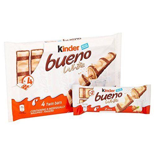 Kinder Bueno 4 Blanco Paquete De 4 X 39g