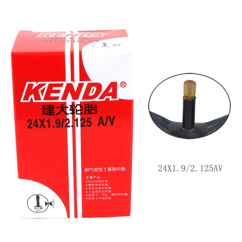 KENDA <font><b>BMX</b></font> bicycle inner tube 14/16/20/<font><b>24</b></font> inch AV Butyl Rubber inner tube for <font><b>bmx</b></font> folding bike Bicycle Parts image