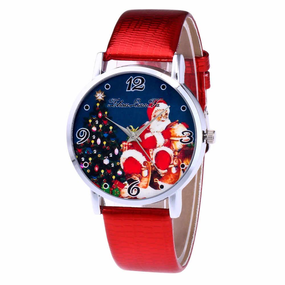 Рождественский подарок для ребенка модные рождественские часы влюбленных