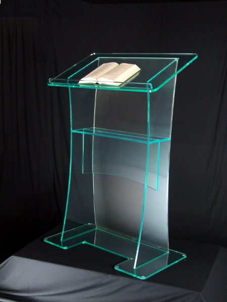Clear Acrylic Furniture Cheap Unique Design Hot Sale And Modern Design Acrylic Digital Lectern.acrylic Podium Plexiglass