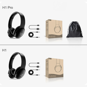 Image 5 - AWI H1 Pro Bluetooth Headphones Wireless Earphone Over ear Noise HiFi Stereo Canceling Gaming Headset with Mic Support TF Card