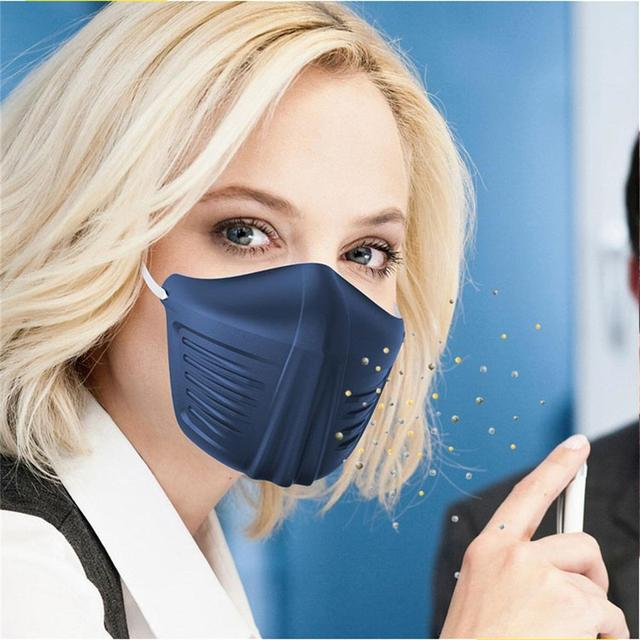 2PC Safe Anti Saliva infection Face covering Mouth mask shield isolation masks splash proof protection mouth protective supplies