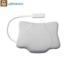 Leravan inteligente multifuncional sono tração travesseiro melhorar a qualidade do sono aquecimento vibração pescoço volta cuidados relaxar