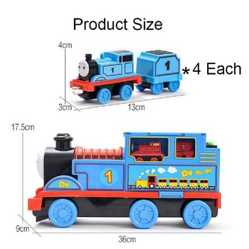 LEGAO THOMAS Toy train gift music learning toys vocal children gifts glow interactive early education puzzle zhenwei magnetic thomas train wooden track car children s puzzle early learning toy cake decoration diecast train action figure