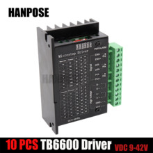 TB6600 wood router machine 42/57/86 stepper motor driver 32 segments upgraded version 4.0A