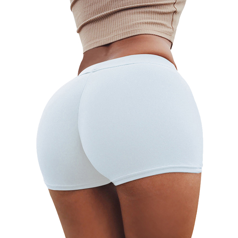 2020 Women Sexy Cotton Yoga Shorts Push Up Running Gym Legging Bottoms Tights Breathable Fitness Workout Plus Size Sport Shorts