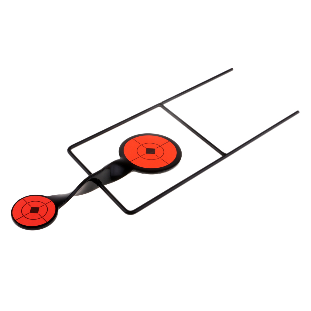 Self Rotary Resetting Target Shooting Targets Shooting Practice Aim Tackle