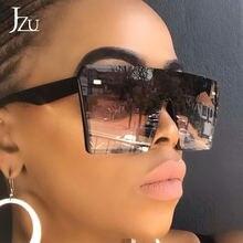 2020 jzu Большие Квадратные Солнцезащитные очки женские 2019