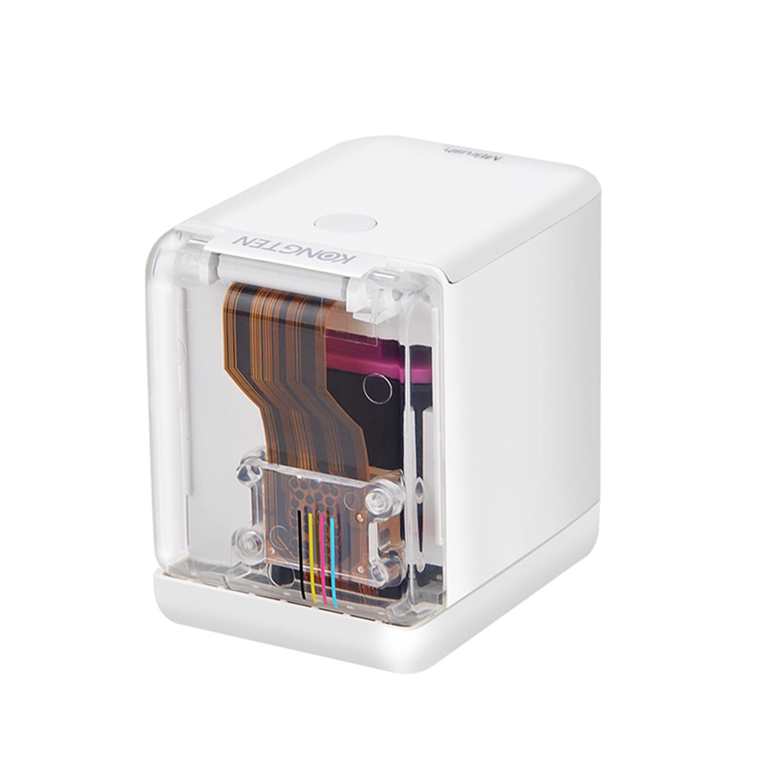 Smartlife с эксклюзивный принтер Cube(Mbrush)-в мире самый маленький мобильный Цвет принтер печати логотипа классный гаджет для дизайнеров