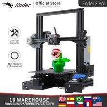 Ender 3 Pro KIT de impresora 3D Upgrad, placa de construcción magnética, Ender 3Pro, retomar la impresión de fallos Mean Well Power Creality 3D